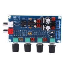1pc NE5532 OP-AMP Boards HIFI Amplifier Board Preamplifier Volume Tone EQ Control Module lusya classic bile op amp 300b 2a3 kt88 hifi op tube amplifier sound op amp upgrade module t1321