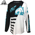 2017 Armteeth Motorcycle Jersey Quick dry Off Road Racing Wear Mens Cycling Shirts Motocross Clothes S-5XL