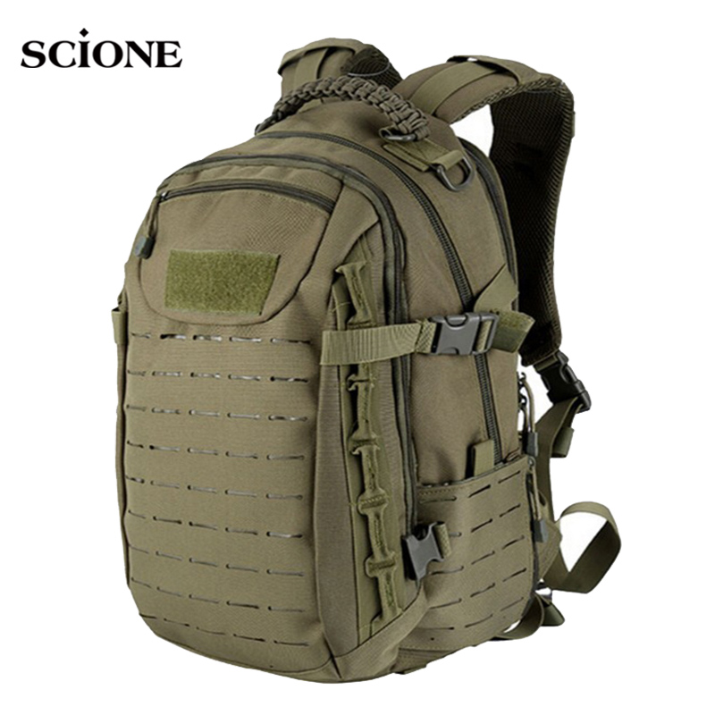 Sports Military Hiking Backpack Tactical Camping Travel Bag Men Hunting Mountaineering Rucksack Trekking Mochila Militar XA842WA
