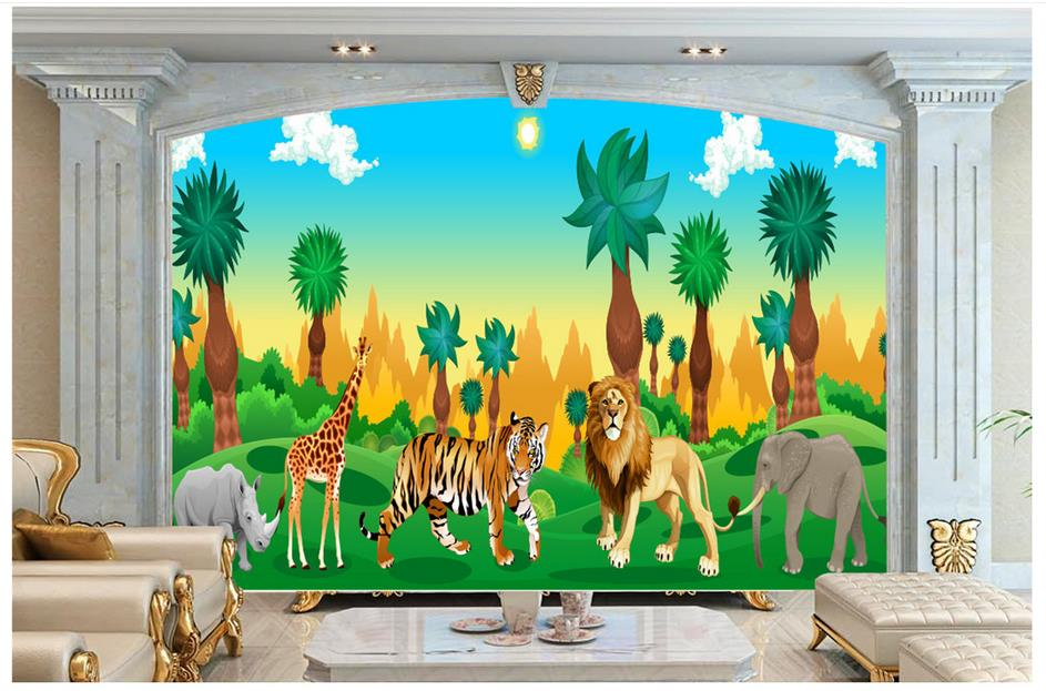 3d Photo Wallpaper Custom 3d Murals Wallpaper Mural
