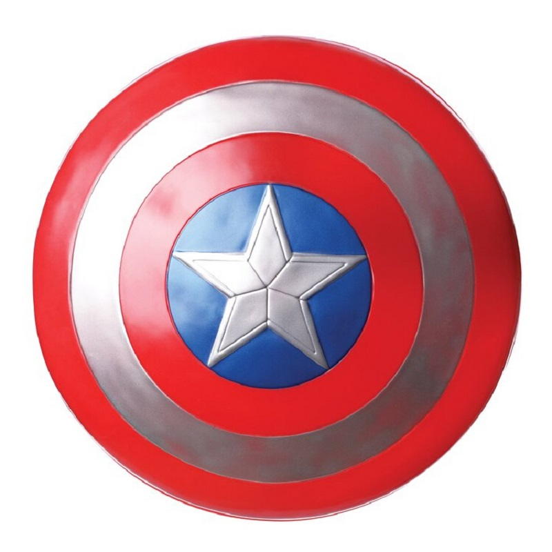 The Avengers Captain 32CM Captain  America Assemble Shield  Cosplay Toy  Red the avengers civil war captain america shield 1 1 1 1 cosplay captain america steve rogers abs model adult shield replica