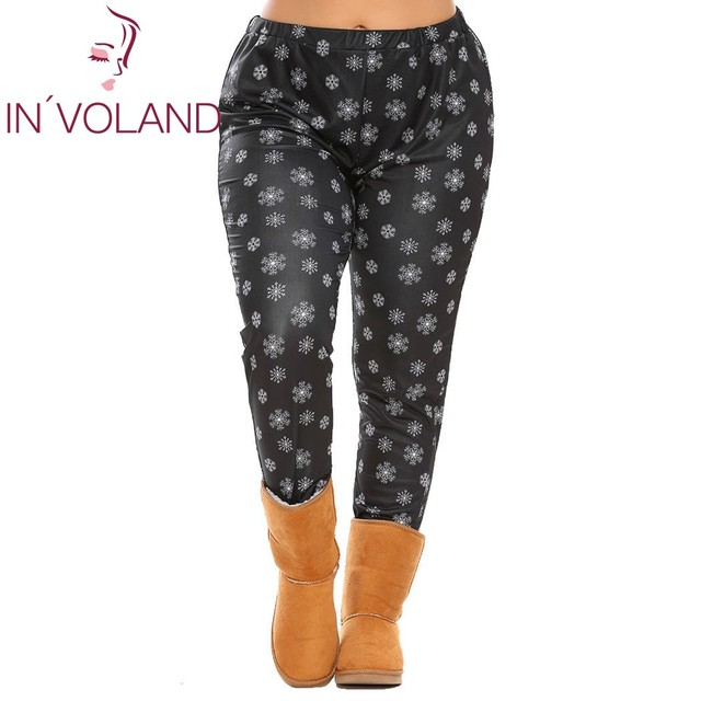 Big Size XL-5XL Women Legging Trousers Oversized Elastic High Waist Print Stretch Female Casual Pant Plus Size