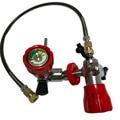 AC101 бак для пейнтбола M18 * 1 5 использовать красный воздушный клапан с HP 4500PSI АЗС для акваланг бак из углеродного волокна Прямая поставка Acecare