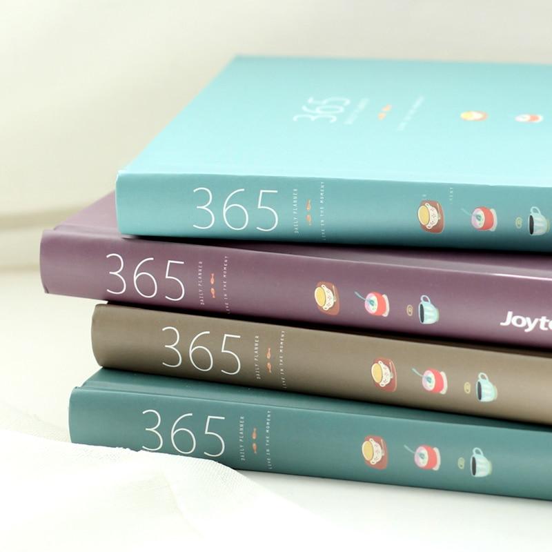 365 Tage Persönliche Tagebuch Planer Hardcover Notebook Tagebuch 2018 Bürowochen Zeitplan Nette Koreanische Briefpapier Libretas Y Cuadernos Notebooks & Schreibblöcke Office & School Supplies