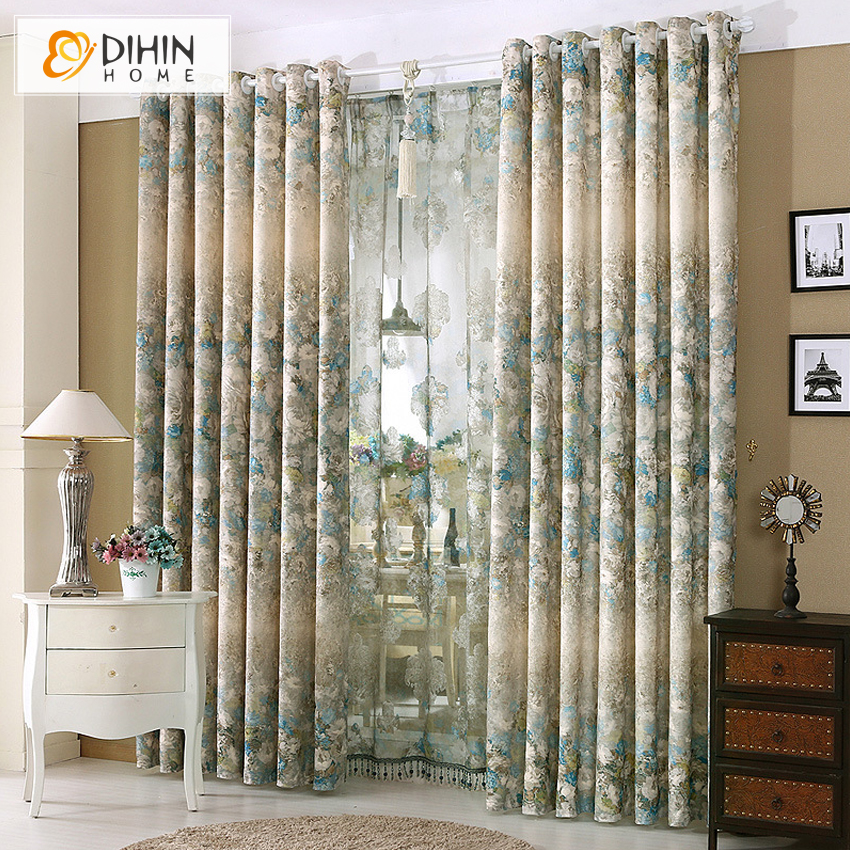 Dihin 1 pc curtain ready made high end garden window - Ideas para cortinas de salon ...