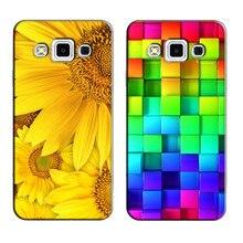 Для samsung galaxy a5 2015 версия a500f a5000 a500f печатные ячейки phone cover case для galaxy a5 2015 оригинальный задней обложки shell