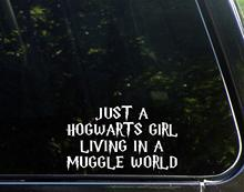 Sweet Tea Decals Just A Hogwarts Girl Living in Muggle World