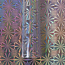 Holographic Laser foil handmade craft wrapping stickers adhesive diy supply sticker decoration 45cm*5m /roll