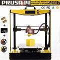 2016 de Alta Precisão Semi-Montado impresora Moldura de Alumínio Grande Máquina Impressora 3D Reprap PLA/ABS Prusa i4 DIY Kit mk8 extrusora