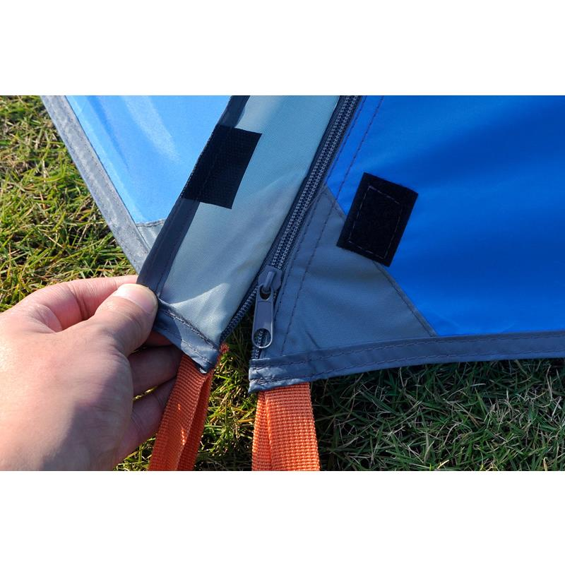 3 4 person double layer dual doors aluminum pole Outdoor C&ing tent Four season Family Tents For adventure Tent-in Tents from Sports u0026 Entertainment on ...  sc 1 st  AliExpress.com & 3 4 person double layer dual doors aluminum pole Outdoor Camping ...