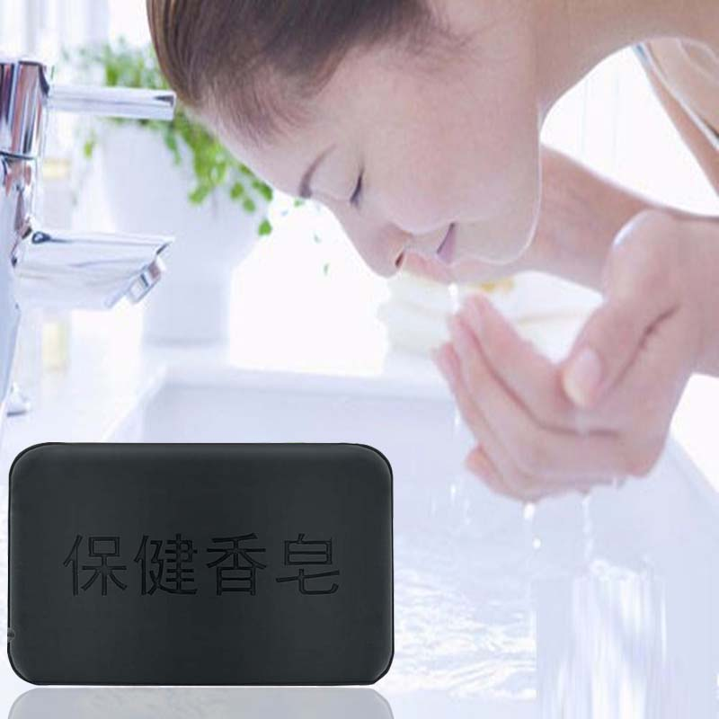 1Pcs New Fashion Marlene Tourmaline Soap For Body Hand Cleaning Beauty Healthy Care Acne Treatment Moisturizing Face Bath Soap