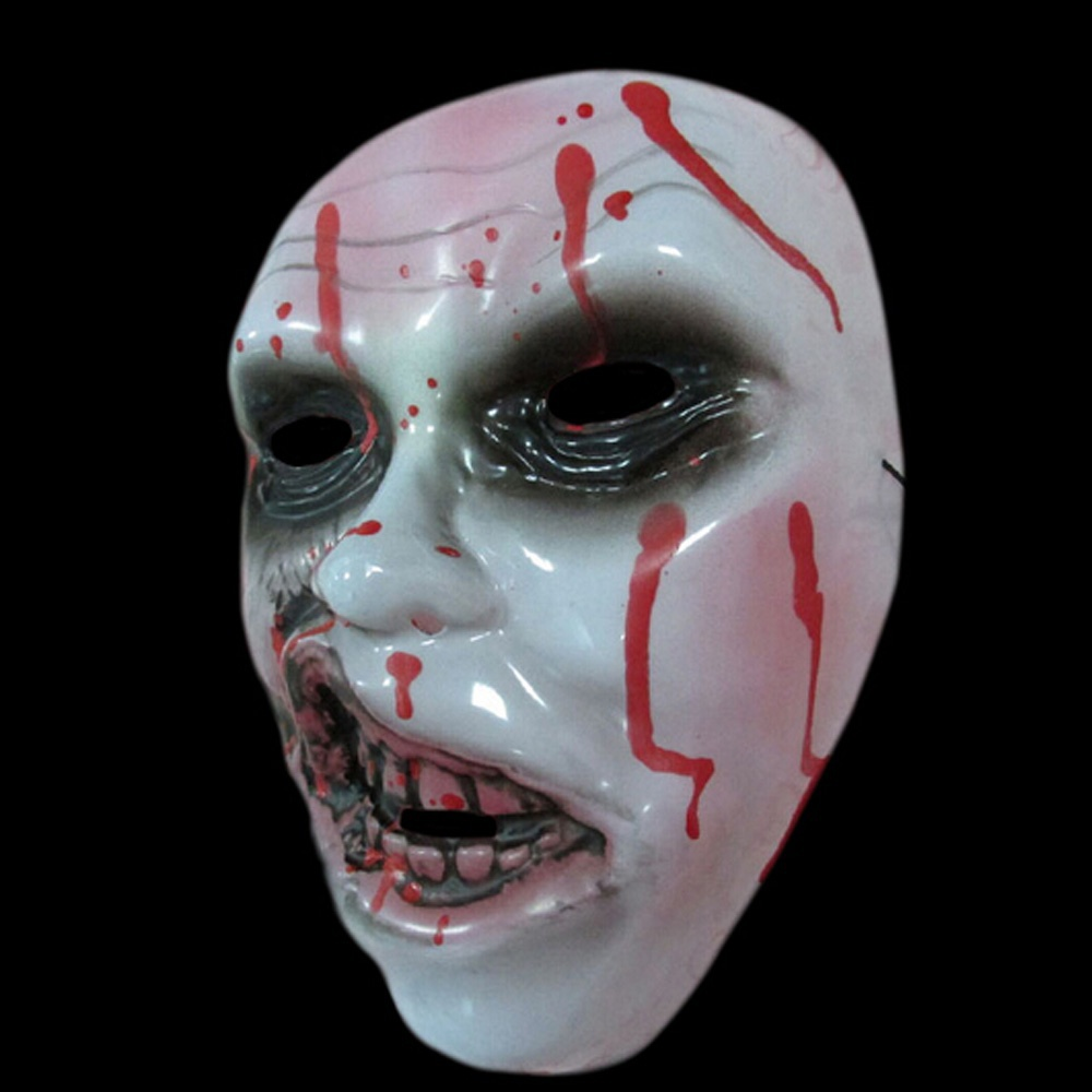 Halloween Bloody Grinning Devil Ghost Decay Face Mask Halloween ...