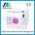 23L Autoclave esterilizador de gabinete de la desinfección de instrumentos dentales materiales Dentales de vacío de Color Púrpura