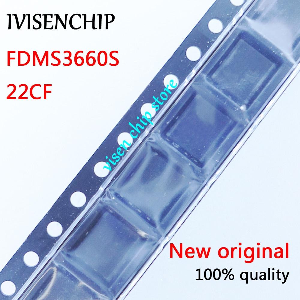 10pcs FDMS3660S  FDMS3660  22CF  MOSFET QFN-8