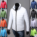 НОВЫЙ 2016 Зимний мужской Одежды Бренд Мужской Пуховики Плюс размер Хлопок Мужские Ватные Куртки Человек Зимние Куртки Человек Теплый пальто