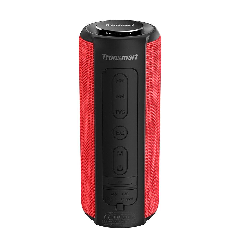 Tronsmart T6 Plus Bluetooth Speaker 40W Portable Speaker Deep Bass Soundbar with IPX6 Waterproof, Power Bank Function SoundPulse-1