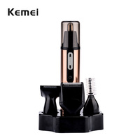 4 In 1 Fashion Original Nose Trimmer Electric Shaving Safe Face Care Trimmer Rechargeable Nose Hair