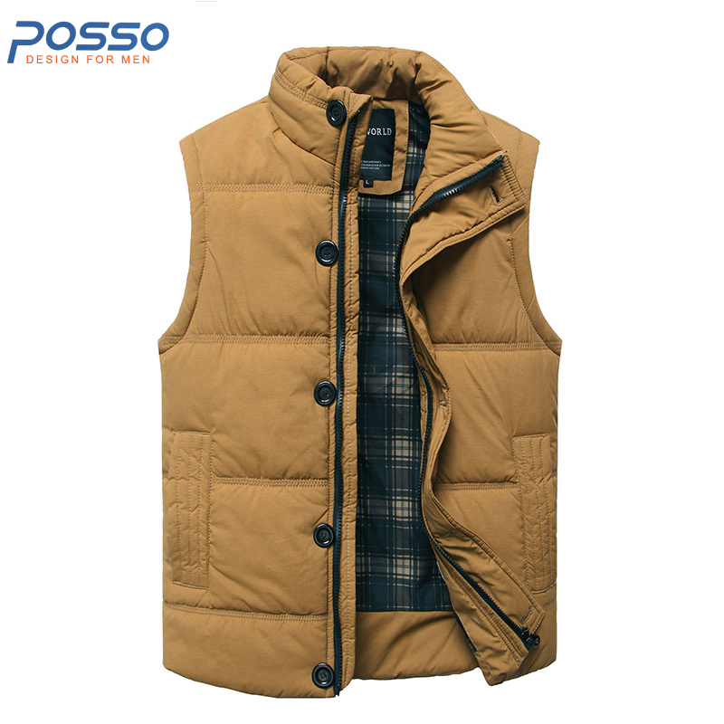 Women Winter Vest Fashion Autumn Winter Thick Warm Waistcoat Casual Solid Long Style Hooded Sleeveless Vest Coat Plus Size Always Buy Good Women's Clothing
