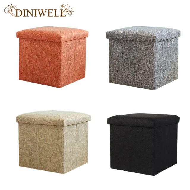 Diniwell Square Linen Folding Home Storage Box Clothing