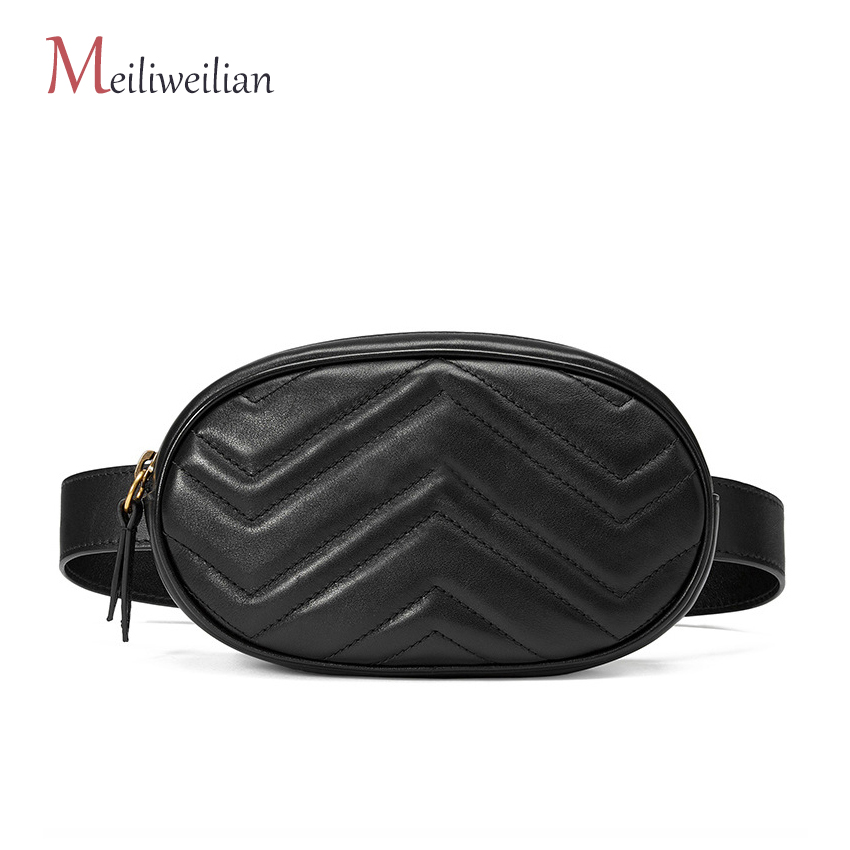 Leather Waist Bag Women Fashion Velour Chest Luxury Fanny Pack For Women Belt Bags Wallet Purse GG Brand Women Crossbody Bag belt bag women waist bag white waist fanny pack luxury brand leather chest handbag lady s belt bags 2018 shoulder bags purse