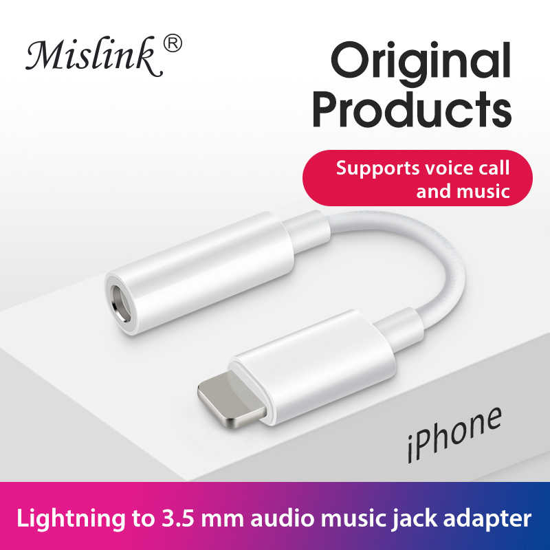 a238ed90f86 Original for apple lightning headphone jack adapter aux audio converter  cable for iPhone xs max xr