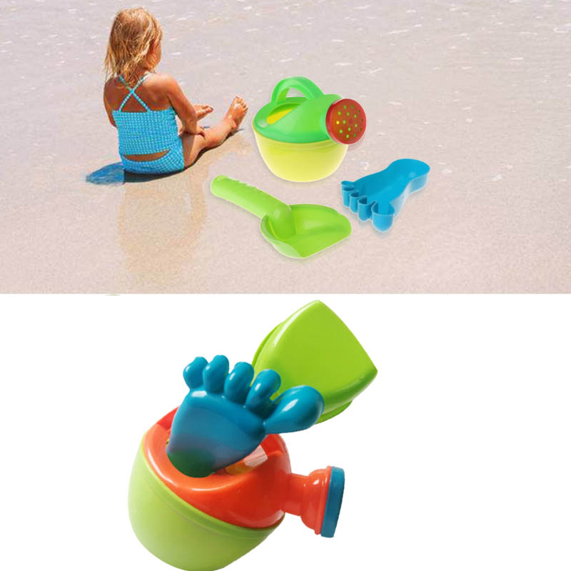 3 Pcs/ Set Children Sand Beach Toys Watering Can Set Bathing Playing Tools Simulation