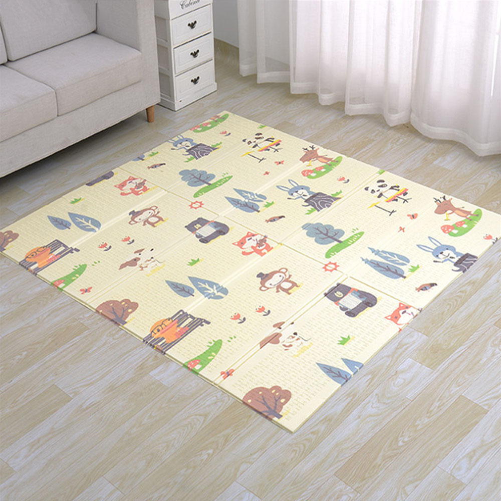 MrY tapis de jeu bébé tapis de jeu Xpe matériel Puzzle tapis pour enfants épaissi bébé chambre ramper Pad tapis pliant bébé tapis