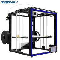 2019 TRONXY X5ST-500-2E bricolage 3D imprimante plus grande taille lit de chaleur écran tactile PLA 1.75mm Filament 500*500*600mm Double couleur impression
