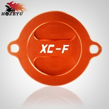 For KTM 250XC-F 350EXC-F 450XC-F 505XC-F Motorcycle Engine Oil Fuel Filter Tank Cap Cover Moto Engine Oil Filter Cover Cap цены онлайн
