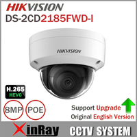 Hikvision 8MP IP Camera DS 2CD2185FWD I Network Dome Camera H 265 High Resolution CCTV Camera