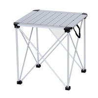 Outdoor Folding Portable Camping Table Aluminum Alloy Stable Light BBQ Desk Stall Picnic Multipurpose Table Outdoor Furniture