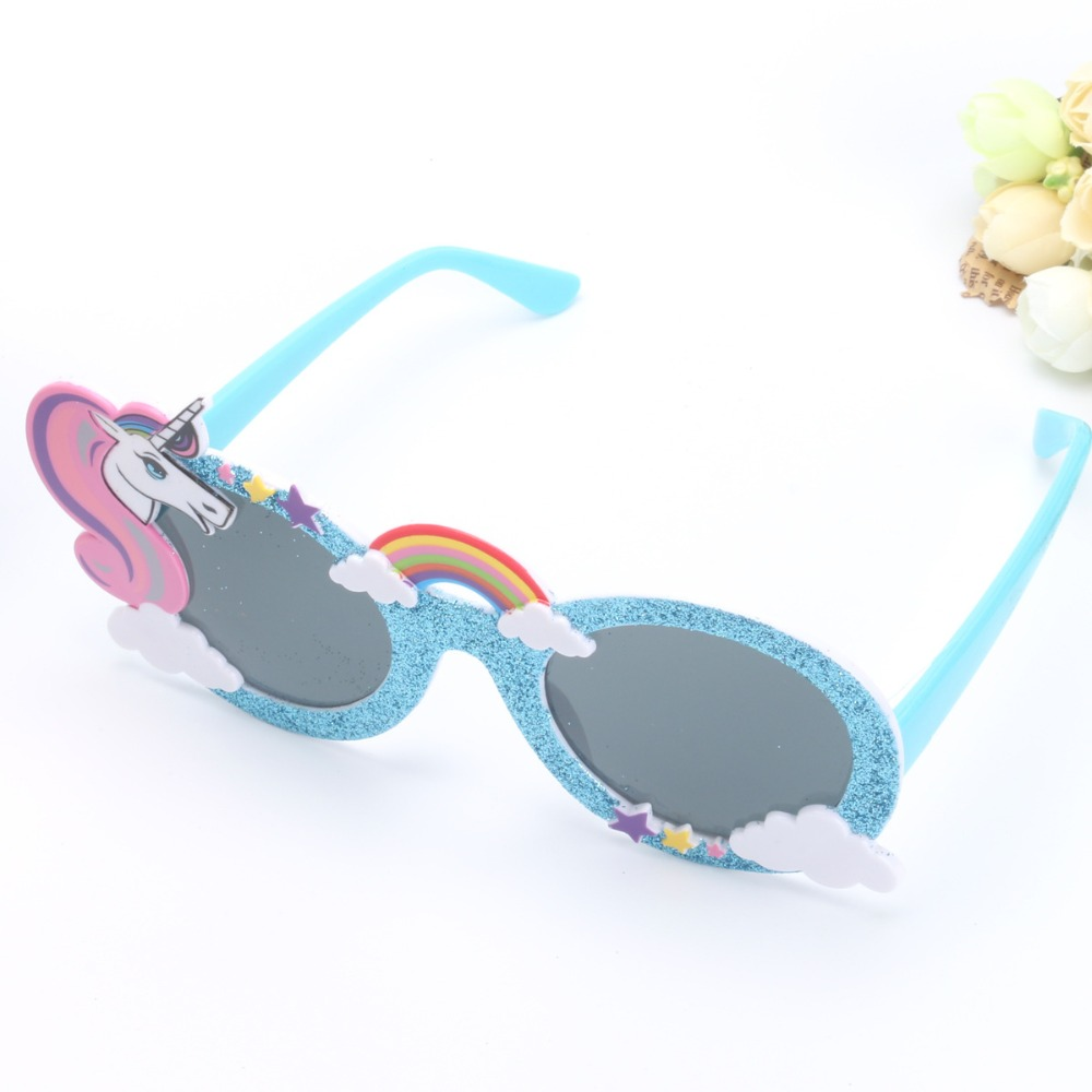 Funny Party Favors Costume Glasses Sunglasses Mask Shiny Blue ...