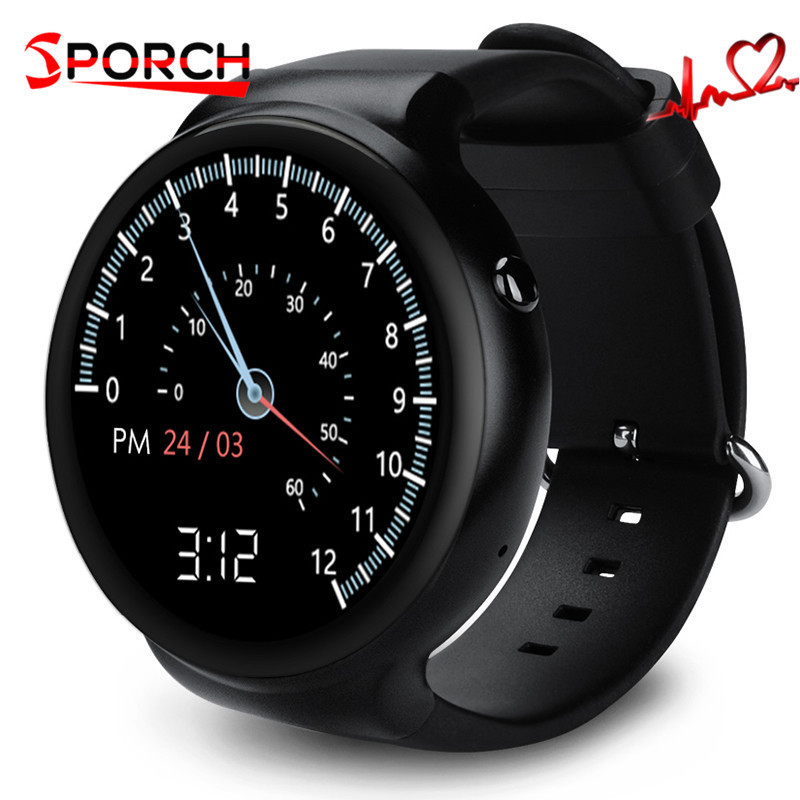 Bluetooth 4.0 Sport I4 Smart Watch Android 5.1 OS 1GB RAM 16GB ROM WIFI 3G GPS Heart Rate Monitor MTK6580 Quad Core SmartWatch no 1 d6 1 63 inch 3g smartwatch phone android 5 1 mtk6580 quad core 1 3ghz 1gb ram gps wifi bluetooth 4 0 heart rate monitoring