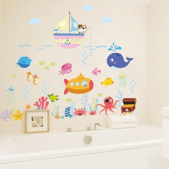 Fish Bubble Wall Stickers 2