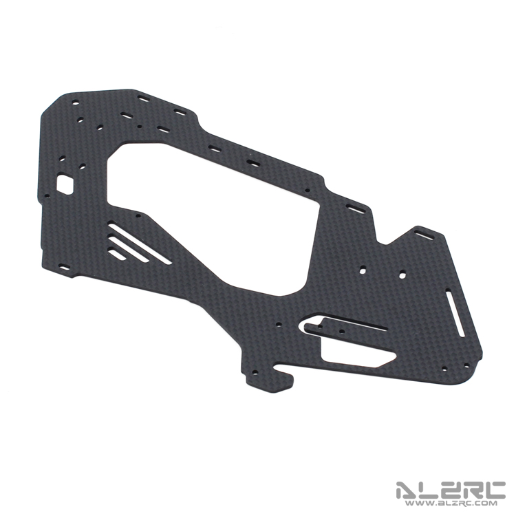 ALZRC Devil 380 FAST 3K Carbon Fiber Main Frame 2 0mm D380 U01 Track Shipping