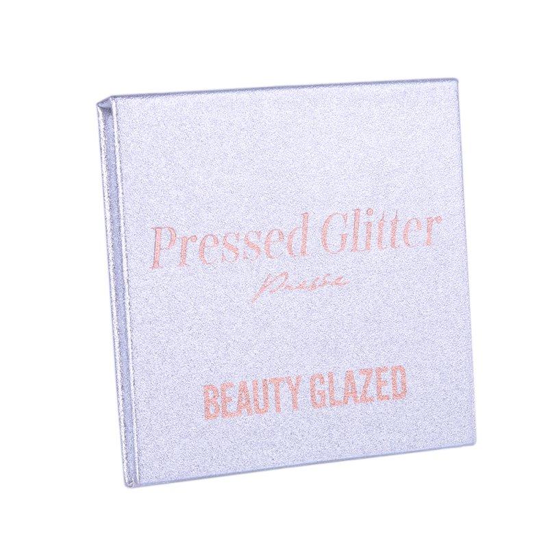 Beauty Glazed 4 Colors Eyeshadow Palette Matte Diamond Glitter Foiled Eye Shadow 1PC Palette Blush Makeup Cosmetic Set 19