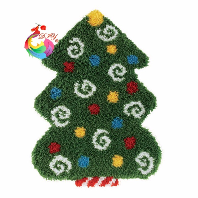 christmas decoration embroidery kits kitchen carpets and rugs carpets and rugs stair carpet mats latch hook - Christmas Decoration Kits