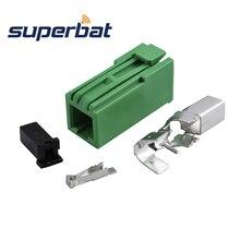 Superbat GSM gps навигационная антенна кабельный монтаж HRS GT5-1S Jack Женский Creen разъем обжимной для кабеля RG174 RG188A RG316 LMR100