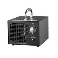 Enerzen comercial gerador de ozônio 3500mg industrial o3 purificador de ar desinfetante esterilizador (3500 mg preto) Purificadores de ar     -