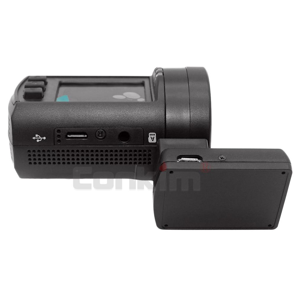 Conkim Ambarella A7 Dash Cam Mini 0806s Auto DVR Mit GPS 1296P 1080P Volle HD Auto Video recorder Super Kondensator Auto Kamera GPS - 4