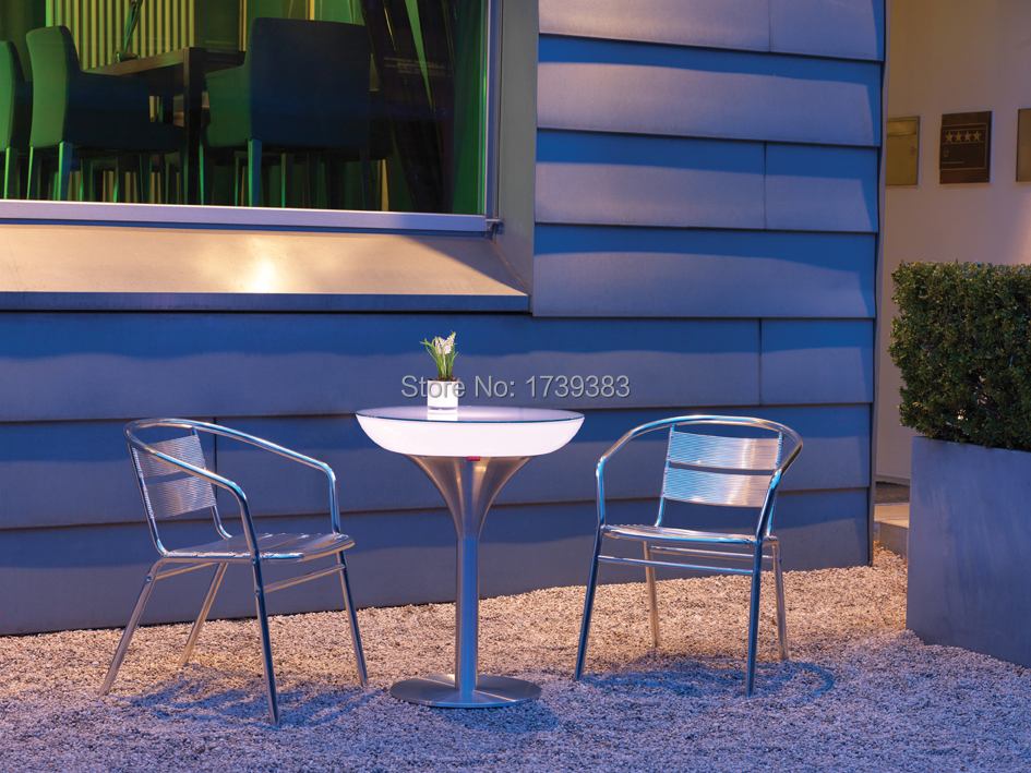 Eine Einzigartig Gestaltete Stehtisch Led Leuchtmöbel, Lounge GefÜhrt, Führte Couchtisch Wiederaufladbare Für Bars/weihnachten/veranstaltungen Wir Haben Lob Von Kunden Gewonnen