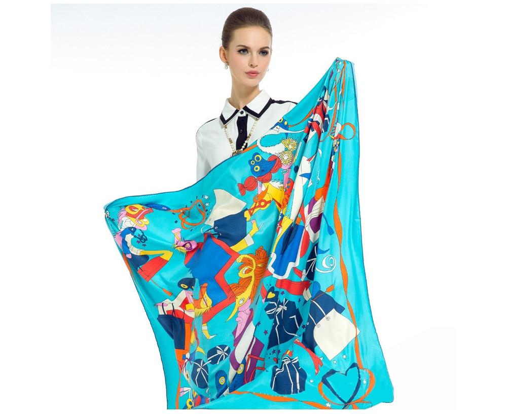 Silk Print Pashmina (8)