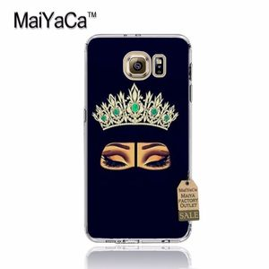 Image 3 - MaiYaCa Oriental Woman In Hijab Face Muslim Islamic Gril Eyes Phone Case for samsung galaxy s7edge s6 edge plus s5 s8 s7 case