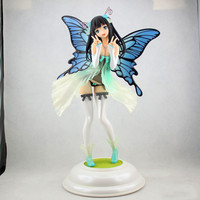 30CM Four Leaves Anime Figure Tony Action Figure Common Daisy Butterfly Leprechaun Ver Sexy Girl Dolls with Box F227