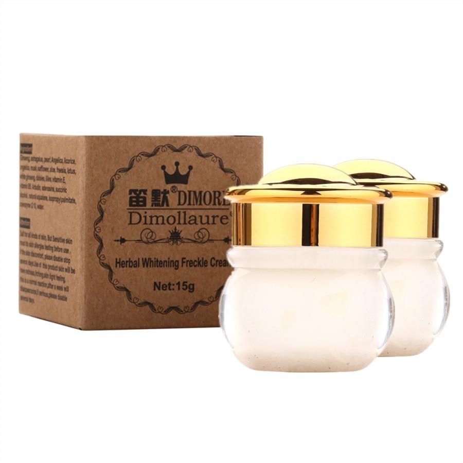 Dimollaure Face Whitening Cream Scar Removal Melasma Freckle Speckle Sunburn Spots Pigment Melanin Cream Dimore Whitening Cream