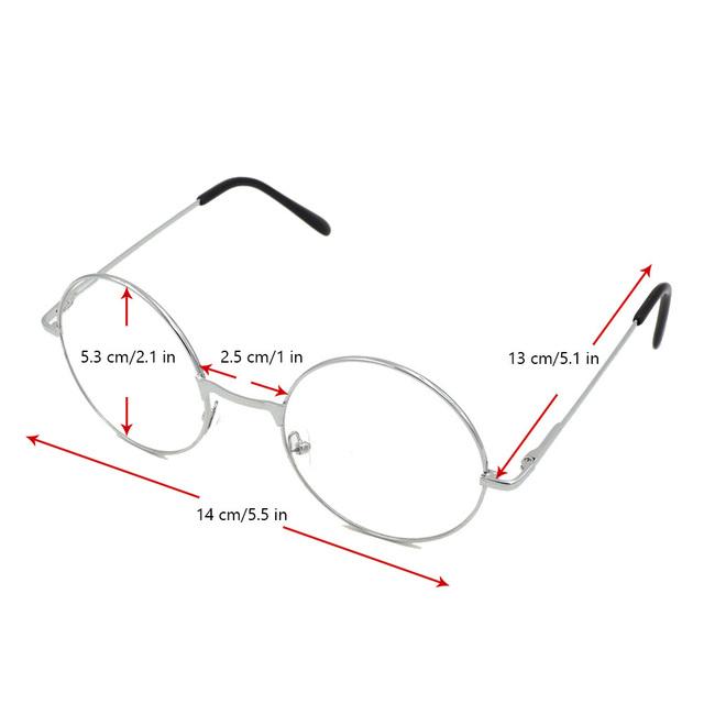 Okrągłe Okulary Golden Frame