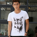 Summer Hot Sale Cool Wolf 3D Printed T Shirt Fashion Animal Creative T-Shirt Novelty Design Wolf Men T Shirts Hip Hop t shirt