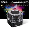 SARDINE B6 Mini LED Bluetooth Speaker Portable Speakers Car Home Speaker Crystal Caixa De Som MP3 Loud Speakers With Mic