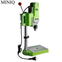 MINIQ Мини Скамья дрель 710 Вт скамья сверлильный станок переменной скорости сверлильный патрон 1 мм 13 мм для DIY дерево металл электрические инс