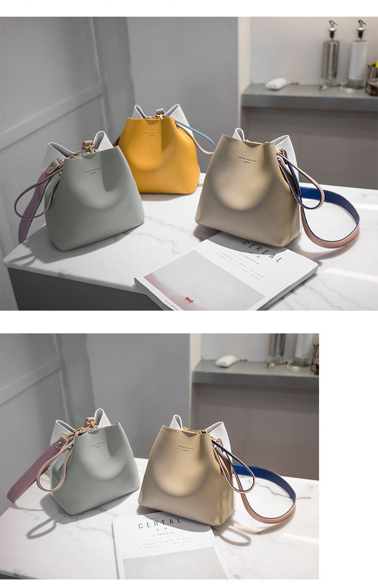 HTB1EH7DSG6qK1RjSZFmq6x0PFXah - Fashion Women Bag Summer Bucket Bag Women PU Leather Shoulder Bags   Ladies Crossbody Messenger Bags Totes Sac